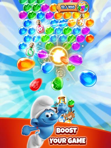 Smurfs Bubble Shooter Story apkdebit screenshots 7