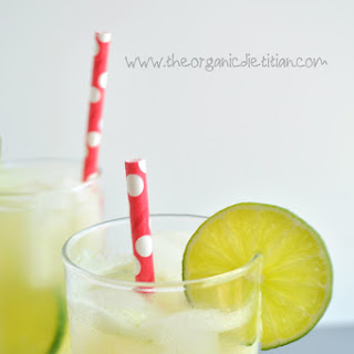 Cucumber Lime Electrolyte Refresher (Sports Drink Replacement).