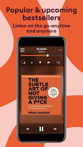 Storytel: Audiobooks and E-books  screenshots 1