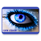 100% vision Bates method icon