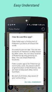 Poke Radar Map- screenshot thumbnail