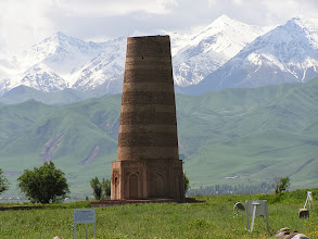 Photo: Burana torony, Balasagun romjainál, Balasagun, Burana tower, Silk Road memory