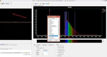 Photo: Espectro calibrado de la estrella Vega el 20 Julio 2015 desde casa y equipo propio.