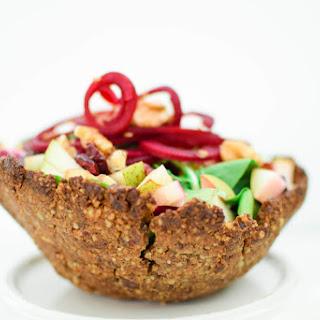 Edible Walnut Salad Bowl