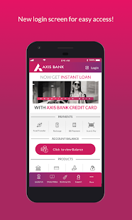 Axis Mobile- Fund Transfer,UPI,Recharge & Payment - Apps on