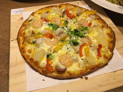 好吃破表的Pizza🍕🍕 #超級夏威夷好pizza
