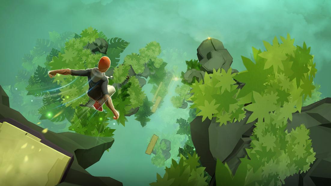 Sky Dancer Run - Running Game Android App Screenshot