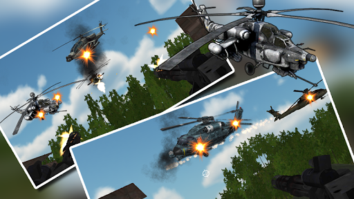 直升机 的空战 武装直升机: Gunship Strike