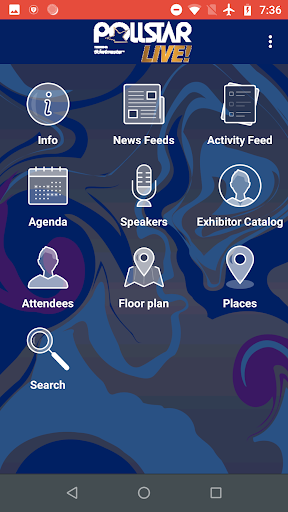 Screenshot for Pollstar Live! Conference in United States Play Store