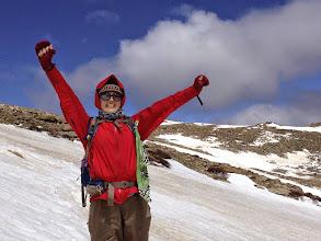 Photo: Near the Summit of Mt Lady Washington