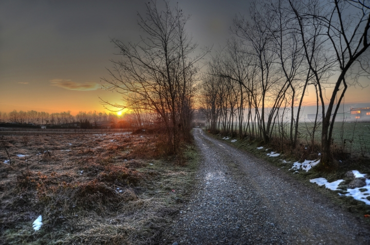 I colori dll'inverno di giothebike