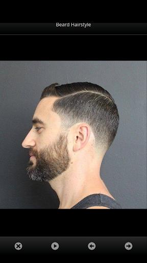 男性のためのヘアスタイル。