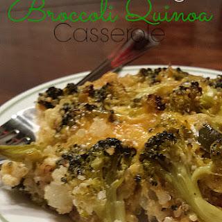 Clean Eating Broccoli Quinoa Casserole
