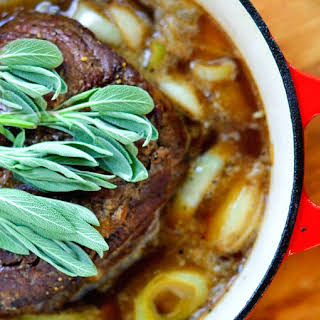 Hard Cider Braised Pot Roast.