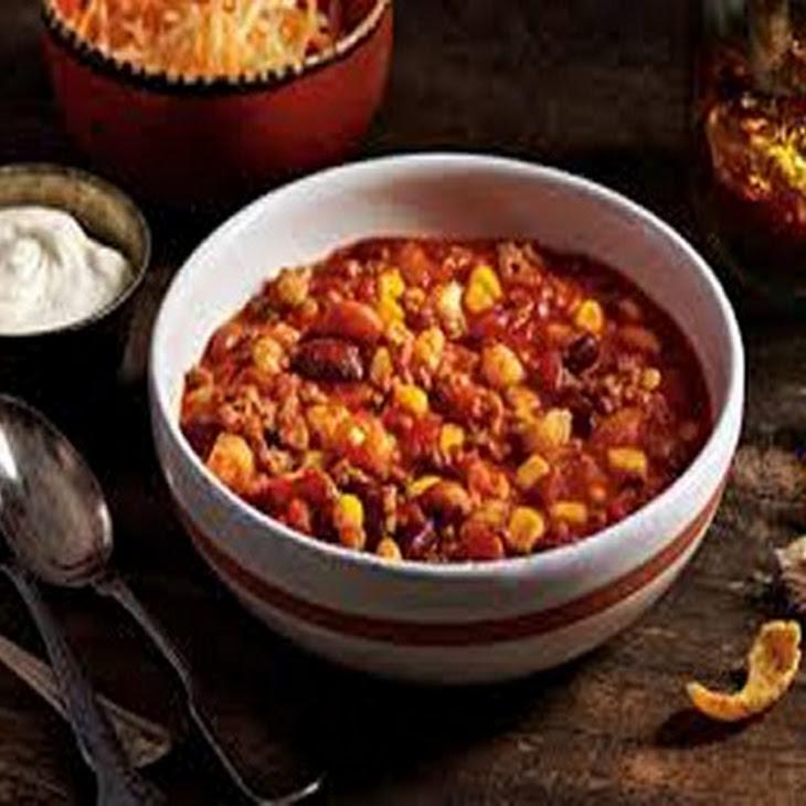 Crock Pot Chicken Taco Chili Recipe | Yummly