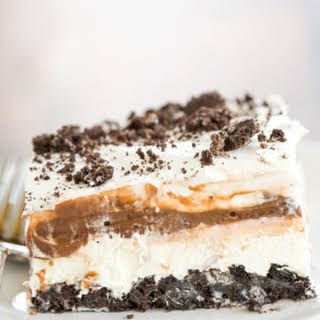 No Bake Oreo Layer Dessert.