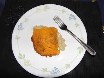 Cheesy Chicken Croissant Casserole