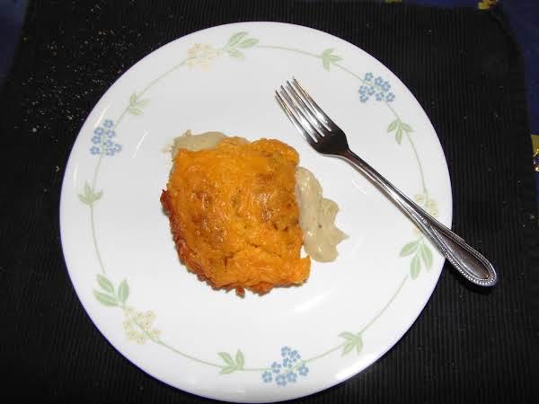 Cheesy Chicken Croissant Casserole Recipe