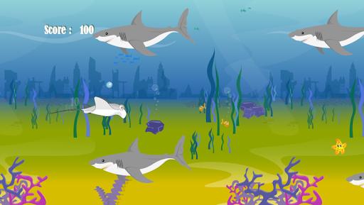Manta Shark Attack
