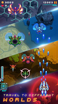 Galaxy shooter : Space attack (Unreleased) APK screenshot thumbnail 8