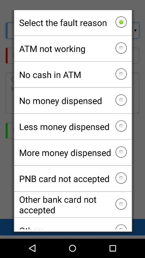 PNB ATM Assist- screenshot