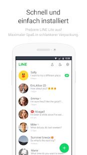 LINE Lite: Gratis-Anrufe & Nachrichten Screenshot