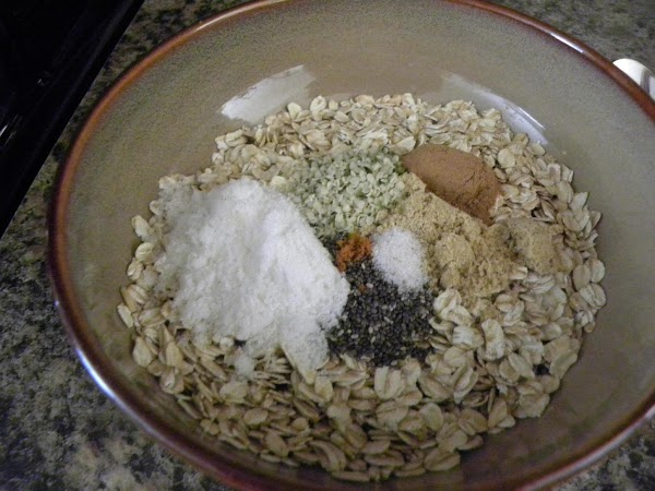 Thoroughly mix all dry ingredients into a bowl (to prevent clumping and for even...