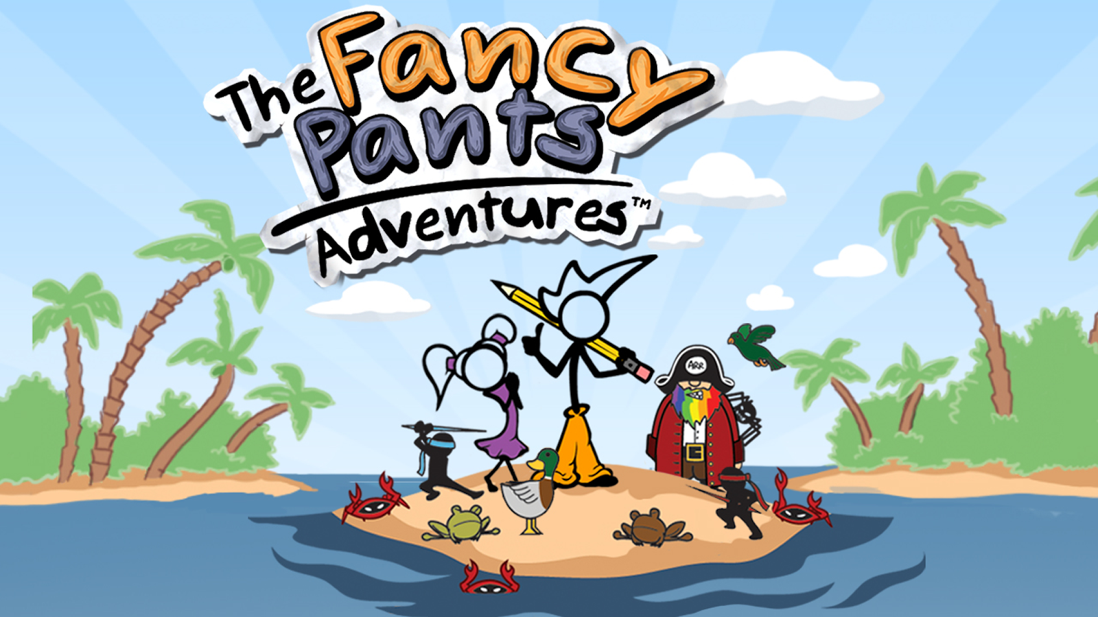 Fancy Pants Adventures- screenshot