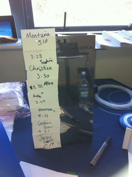 Photo: Who needs Top Gear when you have your own fastest time leaderboard - The Junior Embryologist Challenge!