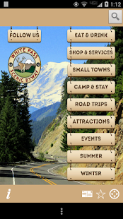 White Pass Scenic Byway- screenshot thumbnail