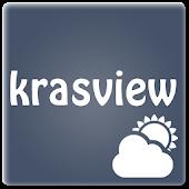 Krasview - виджет погоды