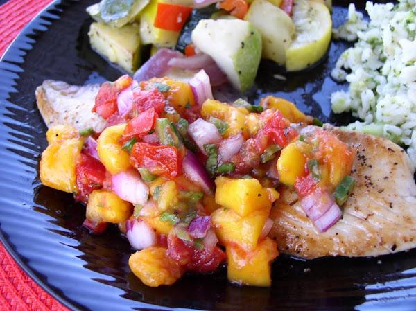 Pan-fried Tilapia With Mango Salsa Recipe