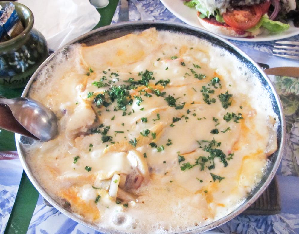 Signature dish - Patates Reblochon