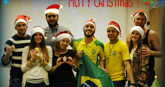 Christmas meeting with International Erasmus+ students 8/12/2014