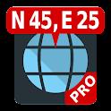 Pro Map Coordinates icon