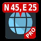 无广告地图坐标 icon
