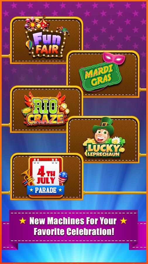 carnival in slot machine