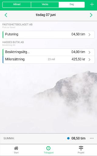 Timekeeper - tidrapportering  screenshots 3