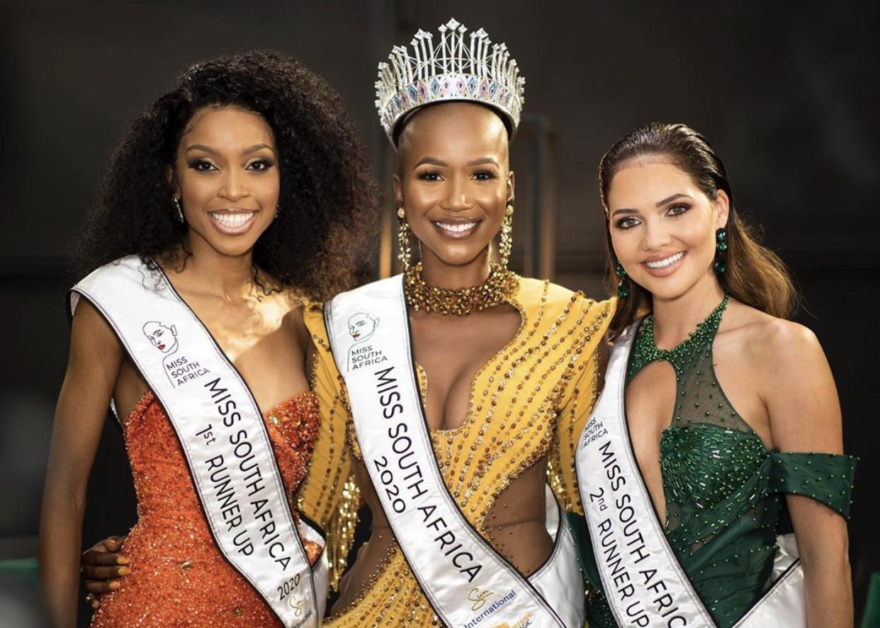 Meet Shudufhadzo Musida, Miss South Africa 2020 + Runner Ups, Video
