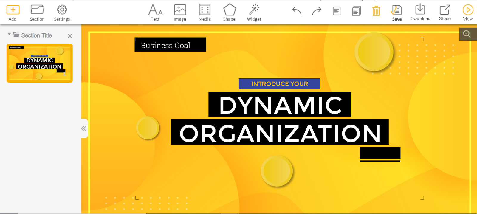 Emaze is second on our list of best PowerPoint alternatives.
