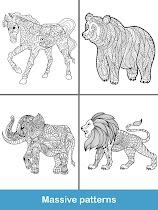 Coloring pages:Animals Mandala - screenshot thumbnail 22