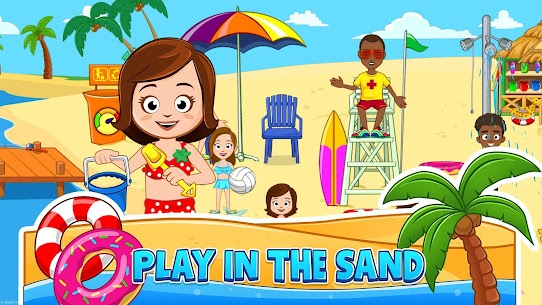 My Town : Beach Picnic MOD (Paid Content) 2