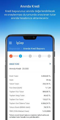 İşCep - Mobil Bankacılık screenshot