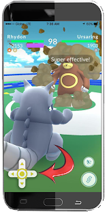 Joysticks For Poke Go Prank- screenshot thumbnail