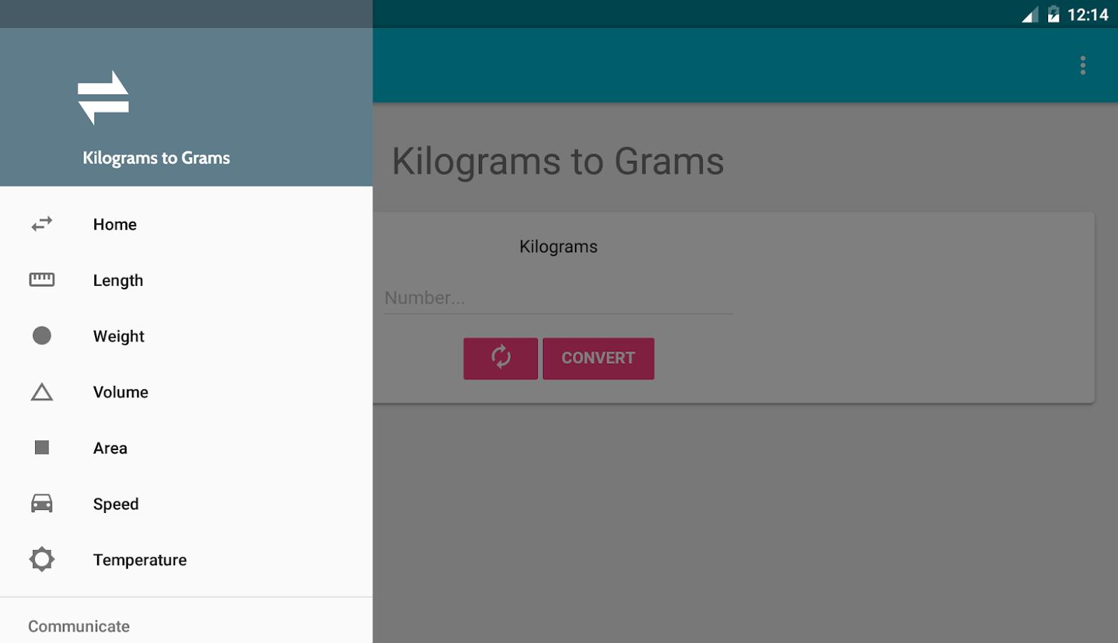 Kilograms to grams android apps on google play kilograms to grams screenshot nvjuhfo Image collections