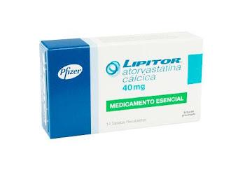 Atorvastatina LIPITOR 40mg Tabletas Caja x14Tab. PFIZER
