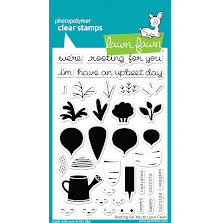 Lawn Fawn Clear Stamps 4X6 - Rooting For You