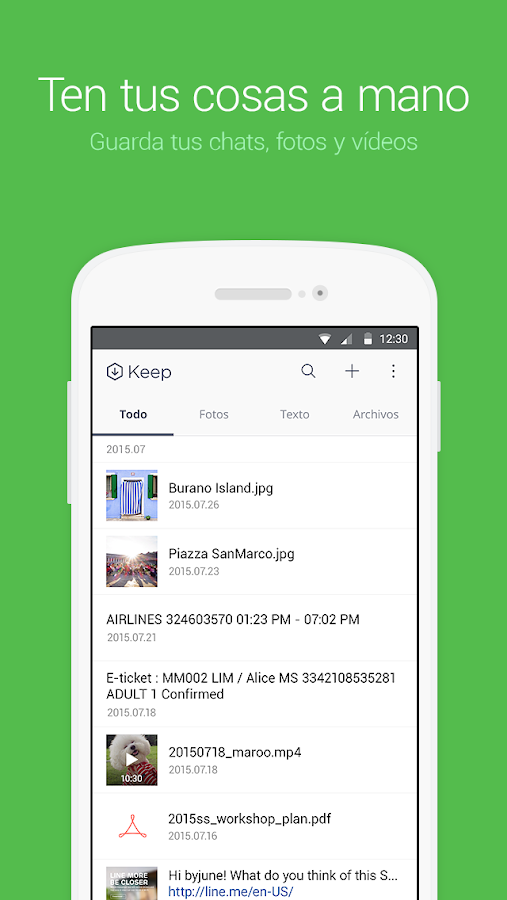 LINE: Llama y mensajea gratis: captura de pantalla