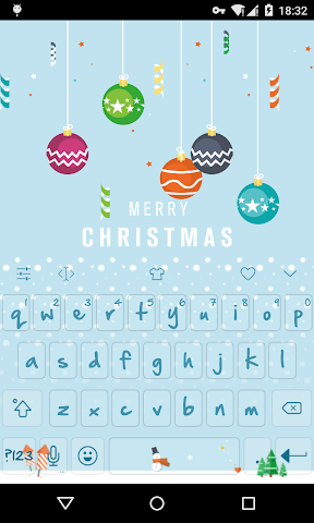 android Emoji Keyboard-First Snow Screenshot 0