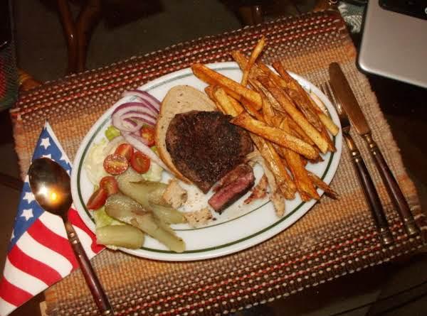 Open Faced Steak Sandwich Recipe